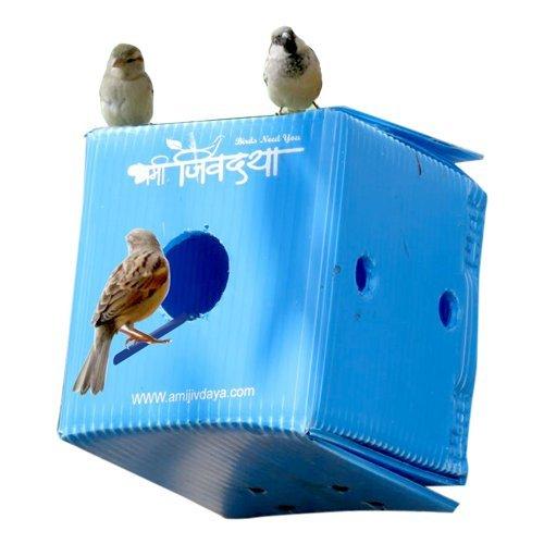 Plastic Home For Birds Amijivdaya Buy Online In India